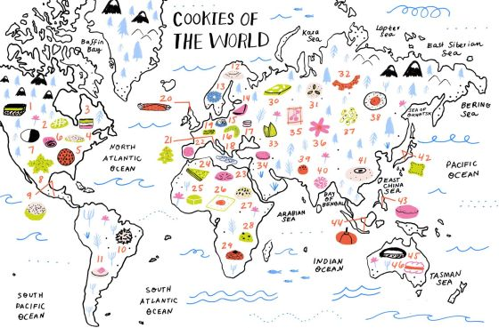 cookies of the world